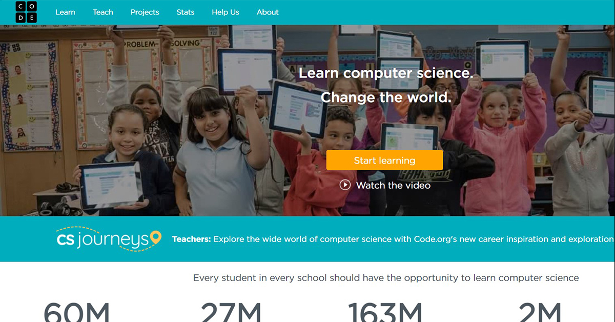 Code.org to Learn Coding