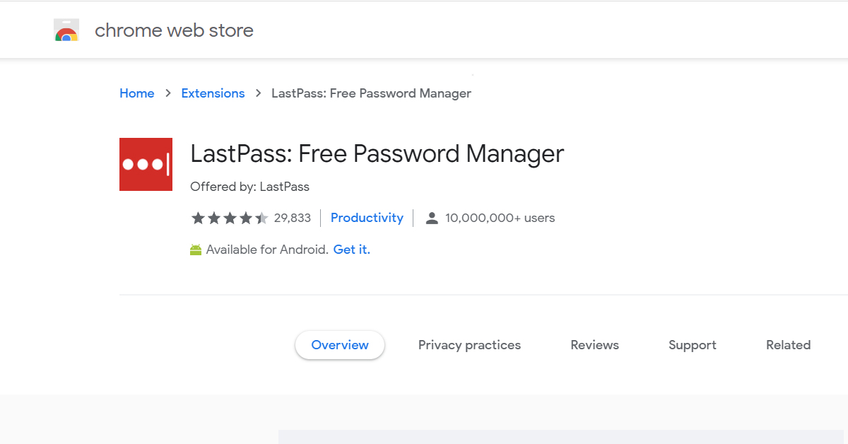 LastPass: Free Password Manager by LastPass