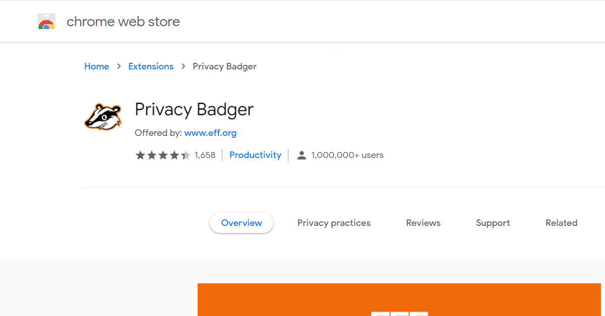 Privacy Badger by eff.com